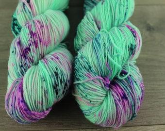 SALE-All I wanna do-Smooth Sock 75/25 SW Merino/Nylon