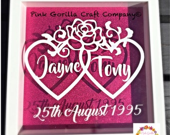 Wedding / Anniversary Personalised Frame
