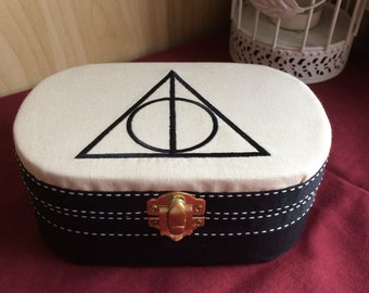 Deathly hallows Harry Potter keepsake trinket box gift