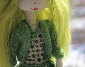 Interior textile doll Selina