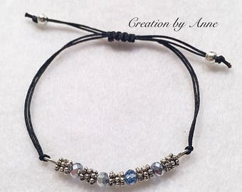 Special price BRACELETS beads Swarovski adjustable size