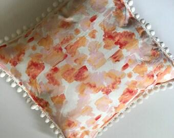 SALE - Pom Pom Pillow  ~ Throw Pillow ~ Accent Pillow~ Modern Pillow ~ Decorative Pillow ~ Pillow Cover ~