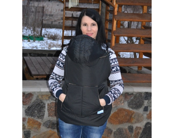 Winter Babycarrier Cover, Babywearing Coat Extender, Baby carrier cover, Toddler carrier cover, Baby wrap cover