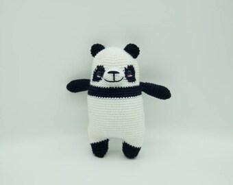 Crochet panda, Amigurumi panda, Panda Plush, Soft panda, Panda Handmade, Panda baby gift, cotton panda