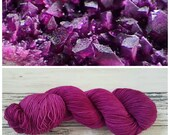 Hand Dyed Yarn, Merino and Nylon Fingering Weight Sock Yarn Perfect for Socks, Shawls, Other Lightweight Accessories - Kammererite