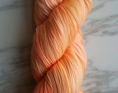 Hand Dyed Yarn, Merino and Nylon Fingering Weight Sock Yarn Perfect for Socks, Shawls, Other Lightweight Accessories - Chaos Theory 17.A.6
