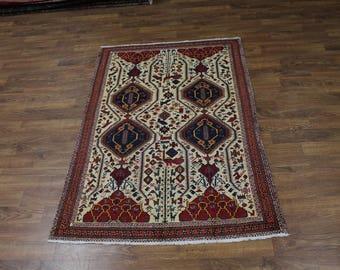 Beautiful Design S Antique Shahrbabak Kerman Persian Oriental AreaRug Carpet 5X7