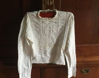 Cute French sides girls blouse