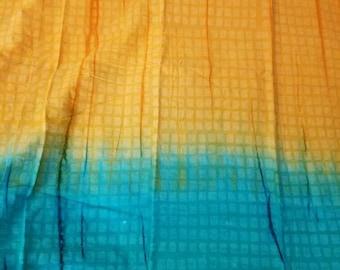 Ombre batik fabric