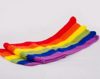 Ready To Ship - Newborn Rainbow wrap - Photo prop
