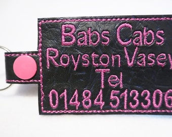 Babs Cabs Key Fob
