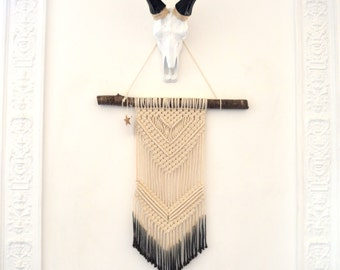Weaving wall macrame Bohemian tie-dye