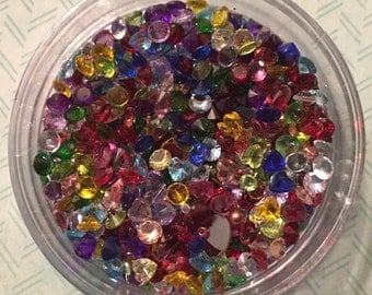 Colorful Stones for Your Floating Charm Necklaces - Choose Your Colors at a Great Price!