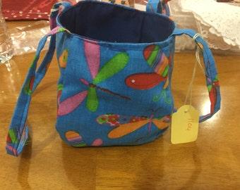 Children's Blue Fish Bag
