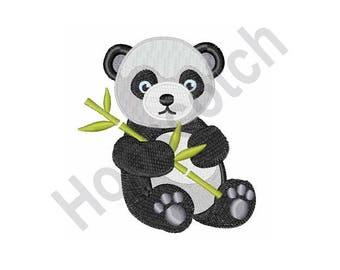 Panda Bear - Machine Embroidery Design