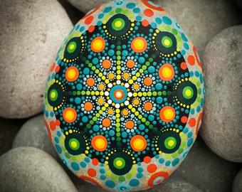 Sacred Mandala Stone 'Bold Statement'