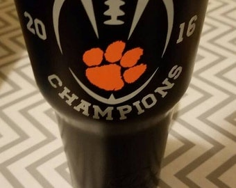 Clemson National Championship Decal