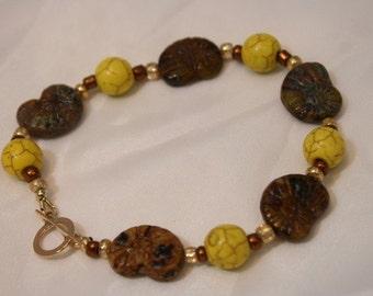 HANDMADE BEADED SNAIL Bracelet