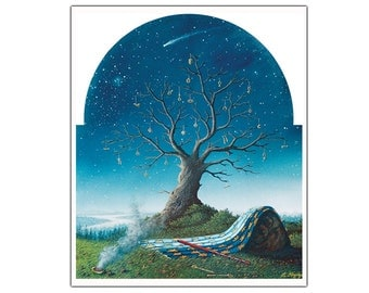 From the Slumber of Ages Awake - Fine Art Greeting Card (blank inside)