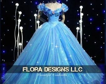Cinderella dress Cinderella costume Cinderella princess movie  adult girl