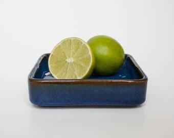 Søholm - Blue Bowl - No. 3320 - 1960s - Danish Midcentury