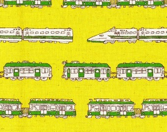 Locomotive fabric etsy for Train fabric by the yard