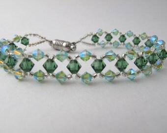 Green Swarovski Crystal