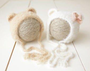 Little Bear / Newborn Bear Hat