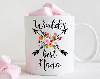 World's Best Nana Mug, Gift for Nana (M457)