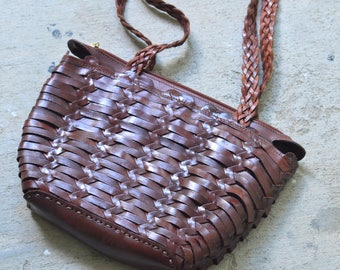 Women's Brown Leather Handbag