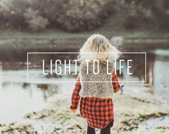 Light To Life Indie Muse Collection 3 Presets  4 Tool Presets 9 LR Brushes Lightroom Presets for Professional Results by LouMarksPhoto