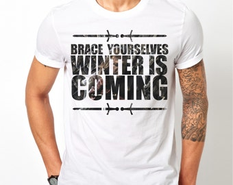 WINTER Is COMING Game Of Thrones T-SHIRT mens