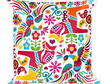 Mexican Pattern Decorative Pillow