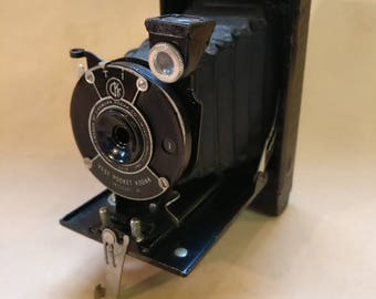 Vintage Kodak Vest Pocket Model B camera, bellows folding camera