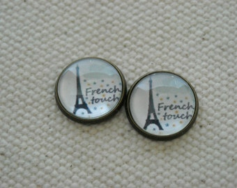"Earrings ""French touch"""