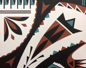 Fine Art Card (Native Clay #2)