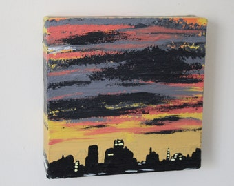 Silhouette Series - Sky Scraper Sunset
