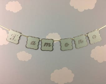 Birthday banner, first birthday banner, party banner, birthday garland, first birthday, party decorations, i am one