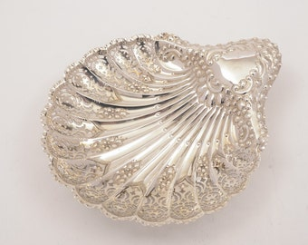 Victorian Silver Serving Dish, Sheffield 1896