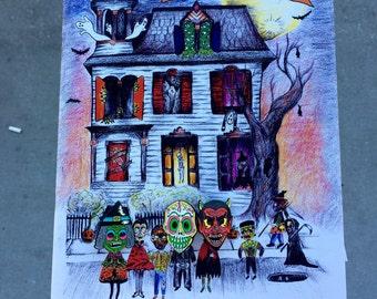 Halloween Mask Enamel Pin Bundle!