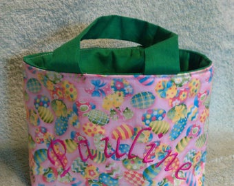 Easter bag, Easter baskets with name