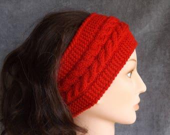 Winter Headband, Winter Ear Warmer, Women's Headband