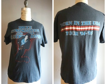 Original 1984-1985 Bruce Springsteen Born in the USA Tour T-Shirt