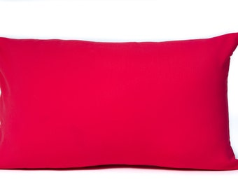Pretty Pink Pillow Case. 12x18 Pillow Cover. Decorative Pillow. Pillows for Her. Kids Pillows. Custom Pillow. Colorful Pillow, Unique Pillow