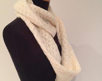 Snowflake infinity scarf 170cm full loop