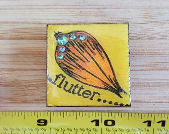 Butterfly Wing Magnet