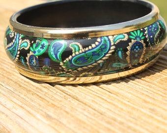 Paisley Park Bangle Bracelet