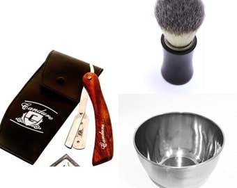Cut Throat Shaving Set