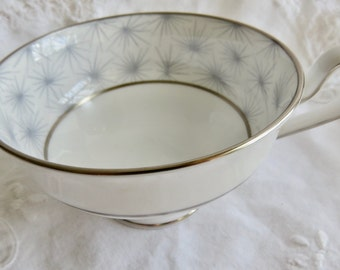 """Spode Orphan Bone China Footed Teacup """"Thistledown"""" Pattern Replacement Teacup Only No Saucer"""