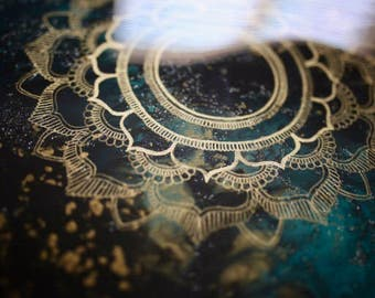 In Another World Mandala Painting